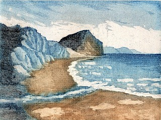 'Golden Cap from Charmouth'